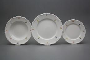 Plate set Maria Louise Flower sprays 12-piece ABB