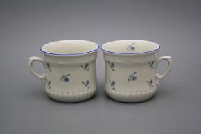 Pearl mug small 0,26l ECRU Forget-me-not Sprays AL