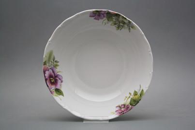 Deep dish 25cm Ofelia Pansy CBB č.1