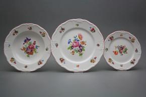 Plate set Maria Louise Pearl 18-piece JRL