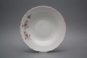Deep plate 23cm Ofelia Pink roses HRL
