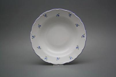 Deep plate 23cm Ofelia Forget-me-not Sprays AAL č.1