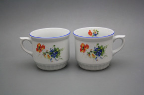 Peasant mug 0,42l Field flowers AL