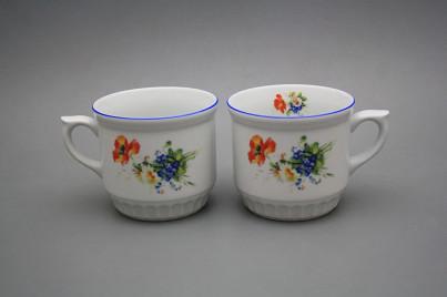 Peasant mug 0,42l Field flowers AL č.1